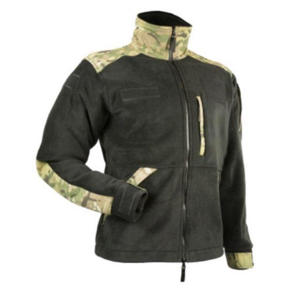 Bluza Polar Militarny Czarny/Multicamo