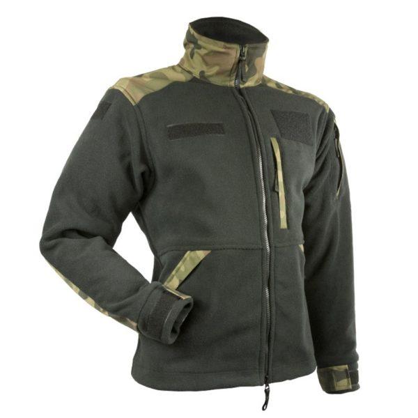 Bluza Polar Militarny Czarny/PL Woodland