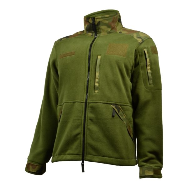 Bluza Polar Militarny Olive/PL Woodland