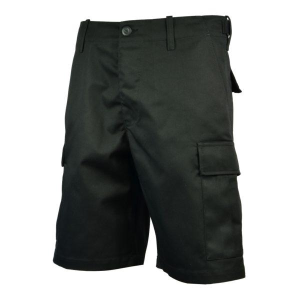 Spodnie BDU PLUS Krótkie Czarne