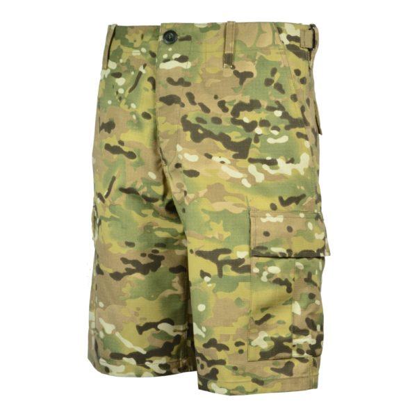 Spodnie BDU PLUS Krótkie Multicam
