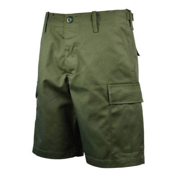 Spodnie BDU PLUS Krótkie Olive