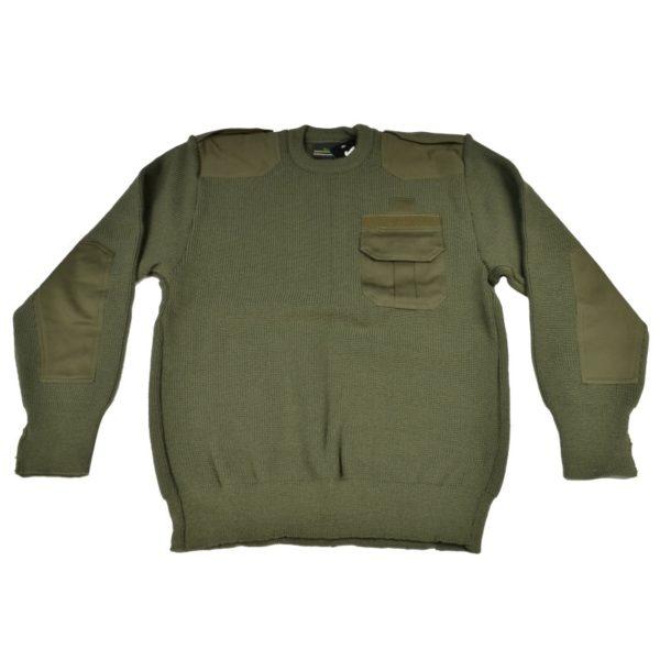 Sweter Mundurowy Olive